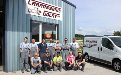 Carrosserie M.+J. Golay SA - lift-marbre